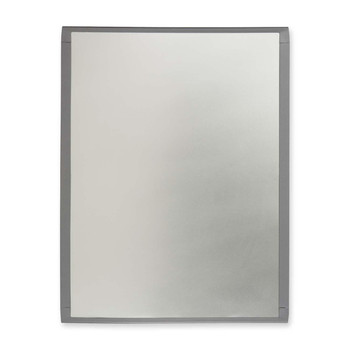 "Quartet - Mini Magnetic Dry Erase Board - 14"" (355.6 mm) Width x 11"" (279.4 mm) Height - Silver - Frame - Film - 1 Each"