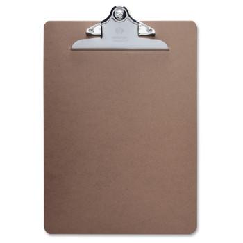 "Business Source - Clipboard - 9"" x 12.50"" - Hardboard - Brown"
