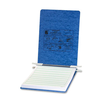 "Acco - Presstex Hanging Data Binder - 6"" Binder Capacity - Letter - 8 1/2"" Width x 11"" Length Sheet Size - Post Fastener - Presstex - Light Blue - 1 Each"