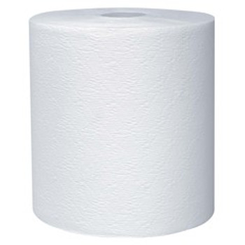 "Kleenex - 50606 - Hard Paper Towel Rolls, 1.75"" Core, 7.9"" Diameter, 600' White"