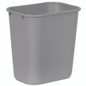 Dynapak - 28qt Grey - Waste Basket - 1 Unit/Each