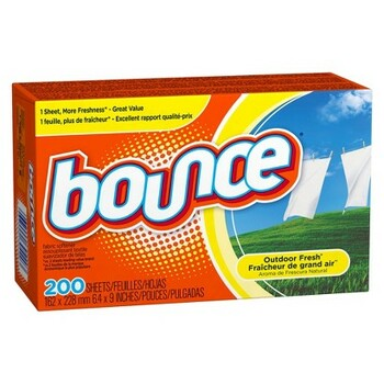 Bounce - #30420 - Dryer Sheets Outdoor Fresh - 6X200/Case