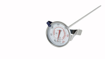 """Winco - TMT-CDF3 - Deepfry/Candy Thermometer, 2"""" Dial, 12"""" - Each"""