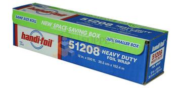 "HFA - 51208 - Heavy Duty 12"" x 200M Aluminum Foil - 1 Roll"