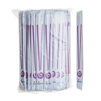 "Touch - 80-861 - Bamboo Chopsticks Individually, Complete Paper Wrapped, 9"", 20 x 100 Pairs = 2000 Pairs"