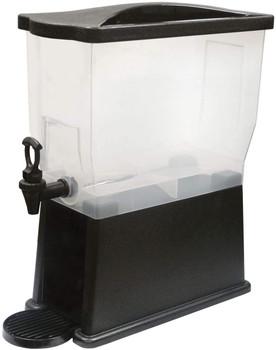Winco - PBD-3 - 3 Gallon Slim Beverage Dispenser, Plastic, Each