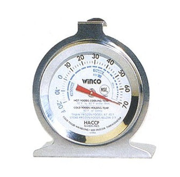 Winco - TMT-RF3 - Hanging Hook Thermometer -20 To 70  - 1/Each