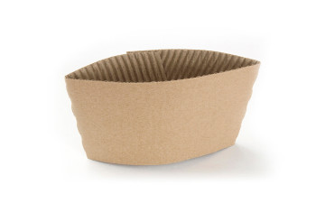 Kraft Paper Sleeve fits 10 - 20 oz tall cups
