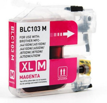 Brother LC103 Compatible Magenta Ink Cartridge High Yield - New