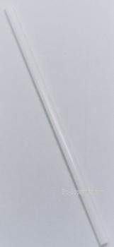 "Bio-Sposables - PLA-ST W - 8"" Pla Milkshake Straws Unwrapped - 5000/Case"
