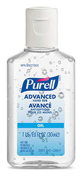 Purell 3901-99-CAN00 Advanced Hand Rub, Portable Flip Cap Travel Bottle, 1 oz