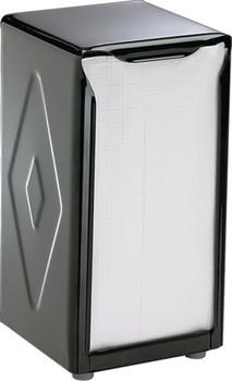 San Jamar - H900BK - Black, Tallfold/JDN Two-Sided Tabletop Napkin Dispenser