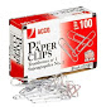 """Acco 72385 - #1 Economy Non-Skid Paper Clip - Regular - 1.25"""" - Silver"""