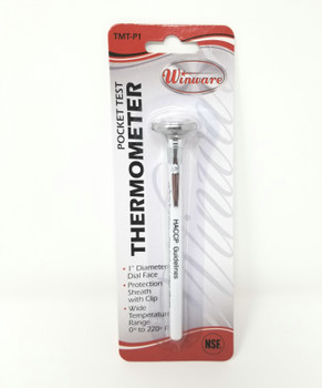 Winco - TMT-P1 - Pocket Thermometer 0 to 220 F - 1/each