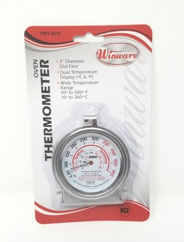 Winco TMT-OV3 Oven Thermometer - 1/each