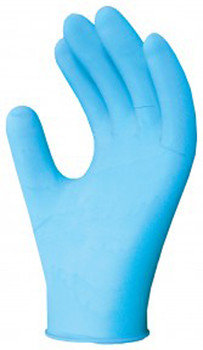 Ronco 375 -Nitech Blue Gloves Powder Free Medium