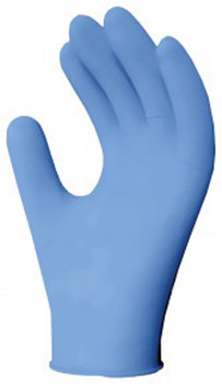 Ronco 945L - Large Nitrile Blue Gloves Powder Free 3.5 Mil