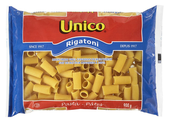 Unico #00615 Rigatoni Pasta 20lbs