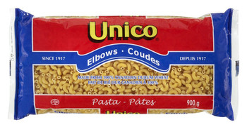 Unico Macaroni Elbows Pasta,  20lbs