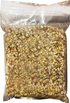 Natural Almonds Sliced with Skin- 5 lbs bag