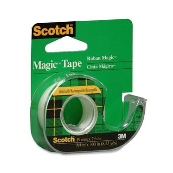 Scotch 104NA - Magic Transparent Tape With Handheld Dispenser - Each