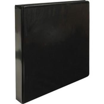 "Business Source 09952 - 1"" Binder Capacity - Letter Size Black - 1 Each"