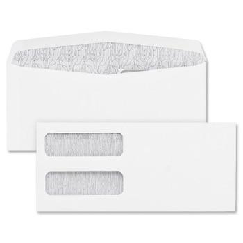 Blueline HE4000 - Envelopes #9 Double Window - 100 /Pack