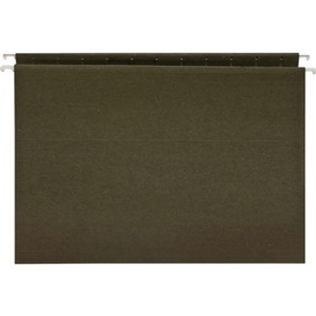 Business Source 26528 - Standard Hanging File Folder - Letter Size - 25 /Box