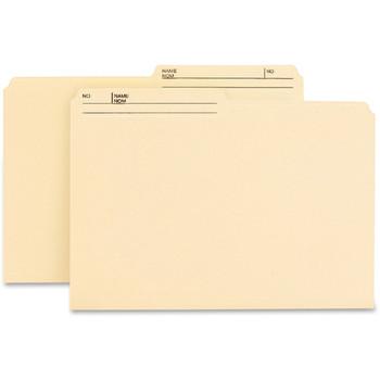 Smead #15145 - 1/2 Cut Tab Reversible File Folders Legal Size - 100/Pack