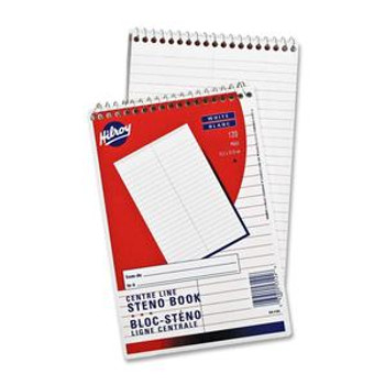 """Hilroy 53124 - 6"""" x 9"""" Executive Coil One Subject Notebook 120 Sheets - 1 Book"""