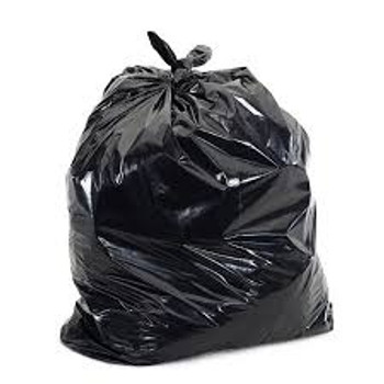 22X24 BLACK REGULAR Garbage Bags 500/case