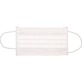 Ronco - Pleated Mask (White)