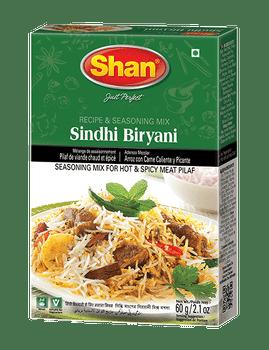 Shan - Sindhi Biryani Recipe and Seasoning Mix - 60g - 144/Pack