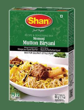 Shan - Memoni Mutton Biryani Recipe and Seasoning Mix - 60g - 144/Case