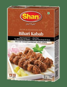 Shan - Bihari Kabab Recipe and Seasoning Mix - 50g - 144/Case