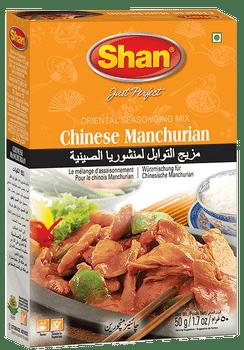 Shan - Chinese Manchurian Recipe and Seasoning Mix - 50g
