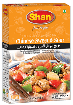 Shan - Chinese Sweet & Sour Recipe and Seasoning Mix - 50g - 6/Pack
