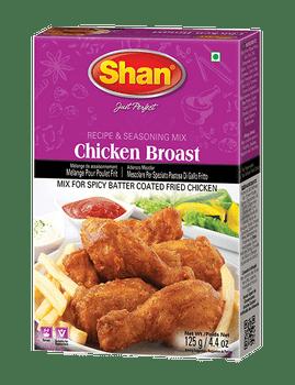 Shan - Chicken Broast Mix Recipe and Seasoning - 125g