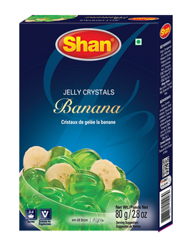 Shan - Jelly Crystals Banana - 80g