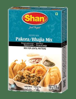 Shan - Pakora/Bhajia Recipe and Seasoning Mix - 150g - 12/Pack