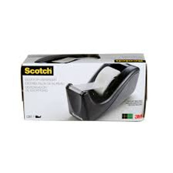 3M Scotch C60-BK Desktop Tape Dispenser - Each