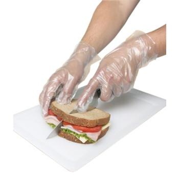 Ronco - 142 - Poly Deli Gloves Powder Free Medium 1x500