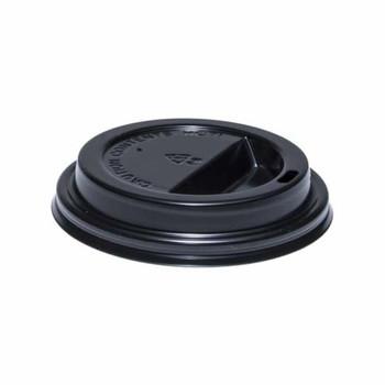 Morning Dew - 8DL-BK - Black 8oz Dome Sip Lids - 1000/Case