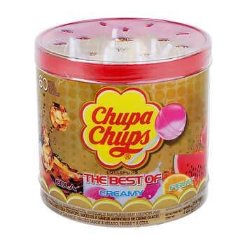 Chupa Chups Lollipops 725g, Pack of 60