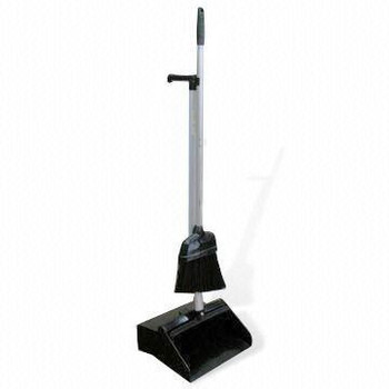 TISA - TS2051 - Plasitc Dustpan + Broom - Regular Each