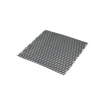 "JR - 7753 - Plastic Mesh Counter Mat - 50' x 24"" (Black)"