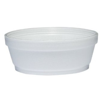 Dart - 8SJ32 - 8 Oz Foam Soup Container, White - 500/Case