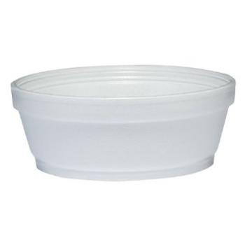 Dart - 8SJ32 - 8 Oz Foam Soup Container, White - 500/Case