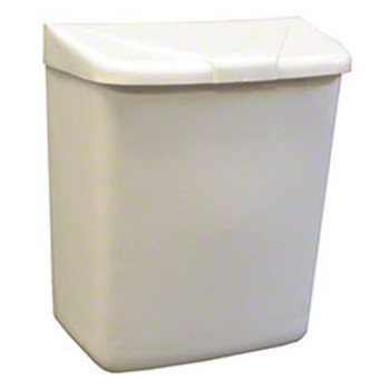Hospeco - HS250-201W - Health Gards Wall Mount White Plastic Disposal Unit