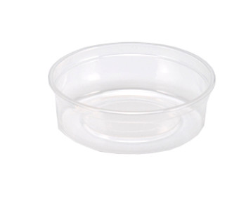 Maple Leaf - H2808 - 8 Oz Deli Container-Heavy, Clear - 500/Case